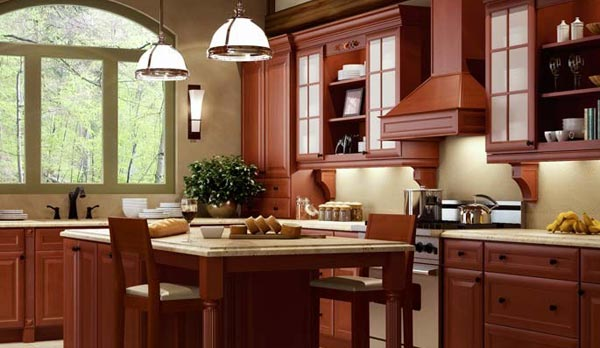 Cinnamon glaze Forevermark Cabinets
