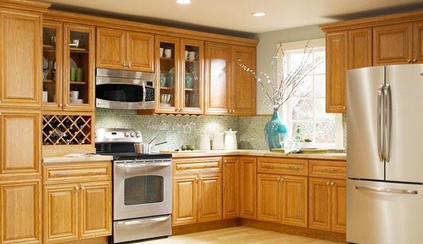 Forevermark county oak kitchen cabinets