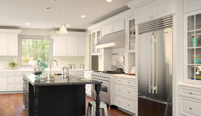 RTA White Kitchen Cabinets Online