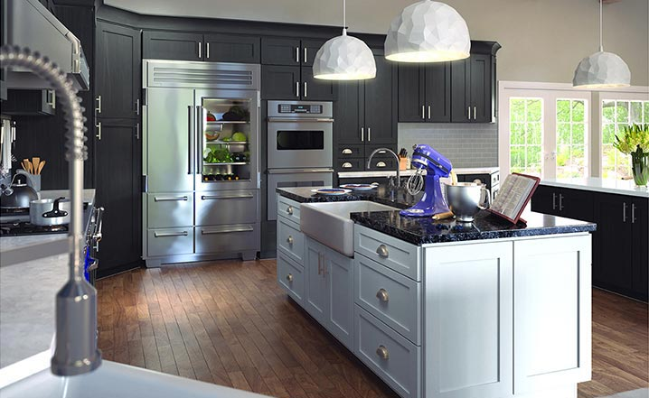 RTA Greystone Shaker Cabinets